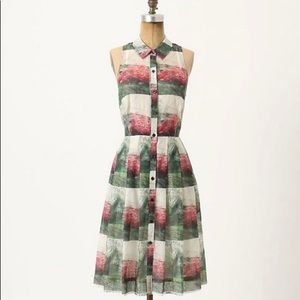 Anthropologie Sarah Ball Myrtle Shirt Dress 2